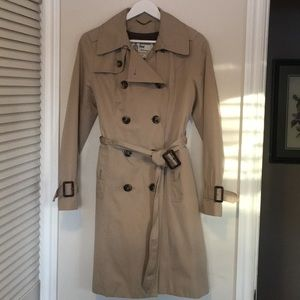 London Fog trench with removable lining